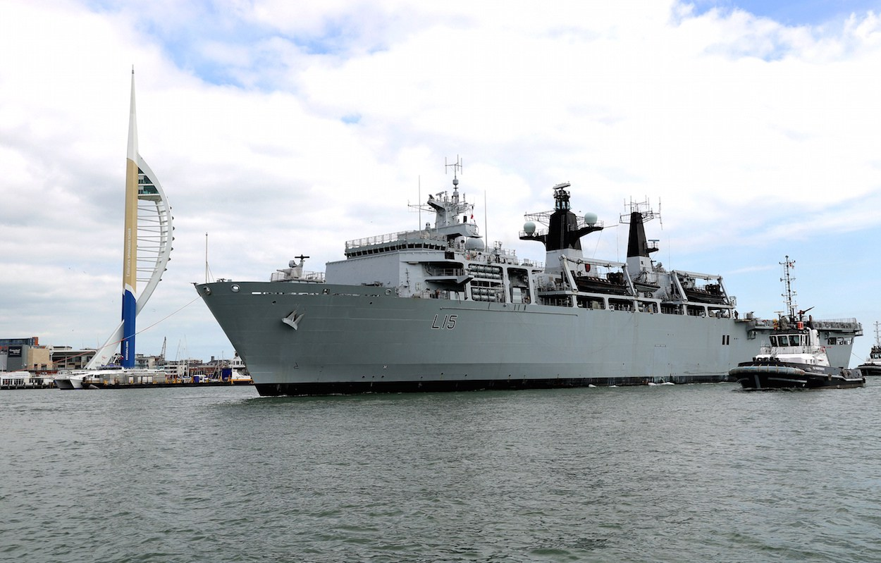 HMS Bulwark prepares for 100th anniversary of the Battle of Jutland