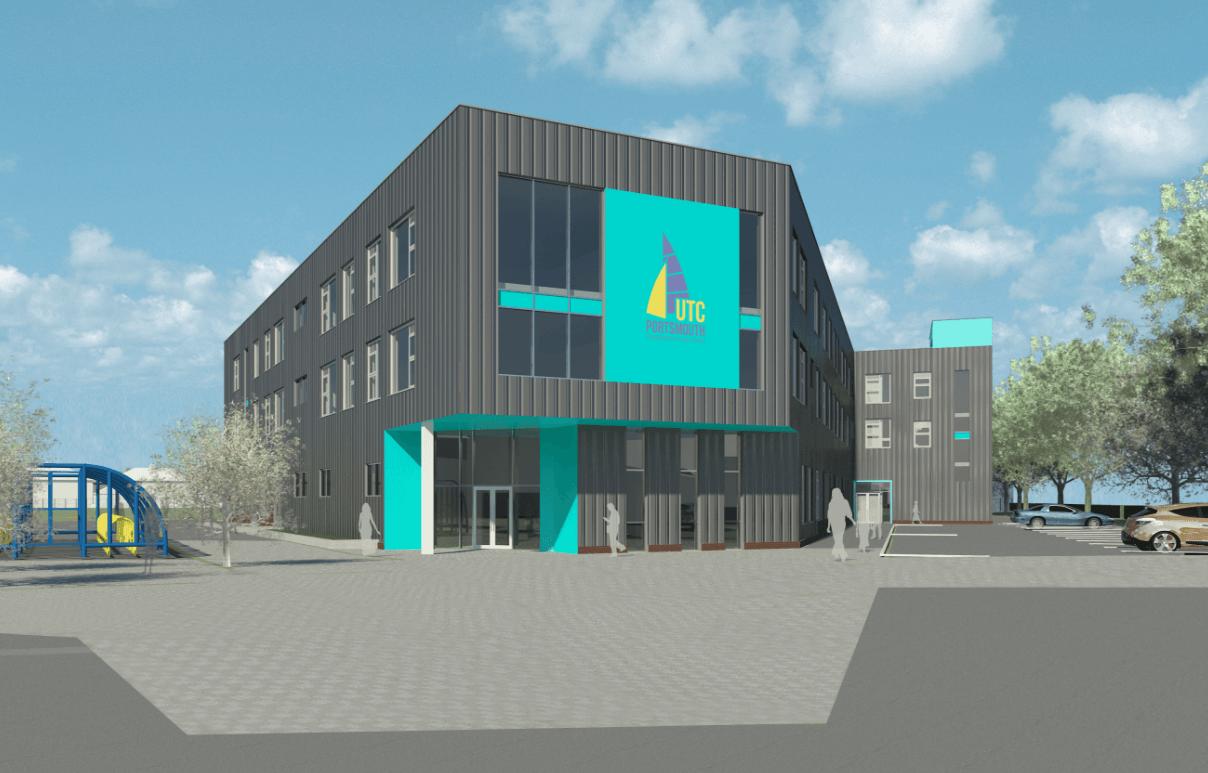 UTC Portsmouth greenlit for £10million school building