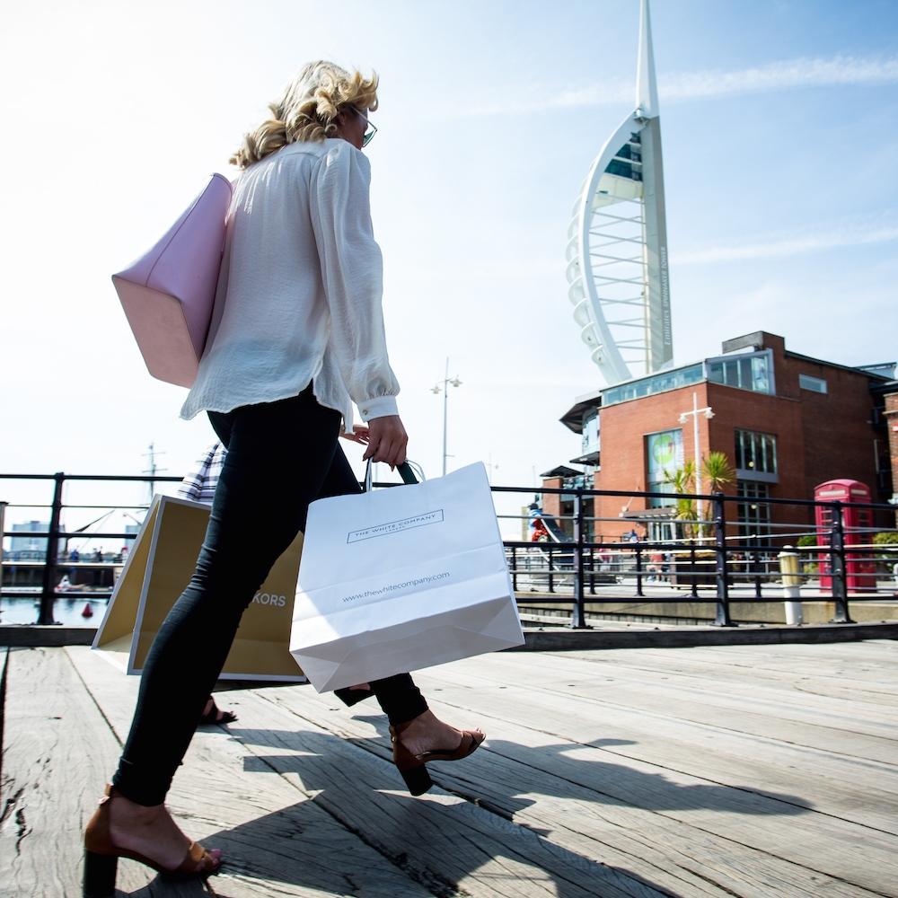 gunwharf quays designer outlet -