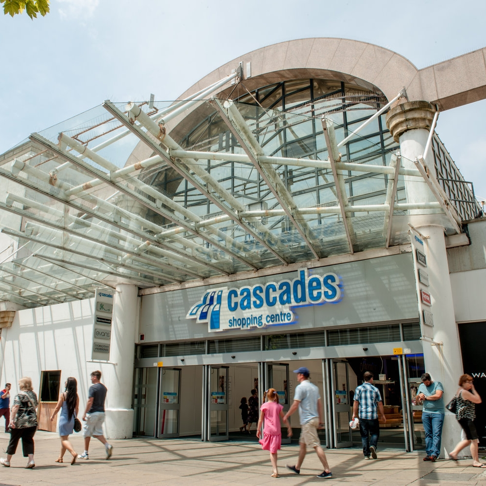 cascades shopping centre -