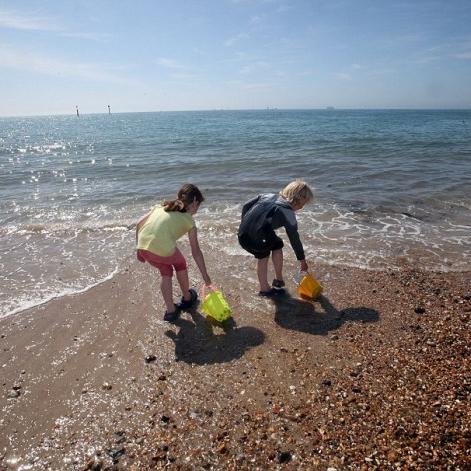 southsea beach -