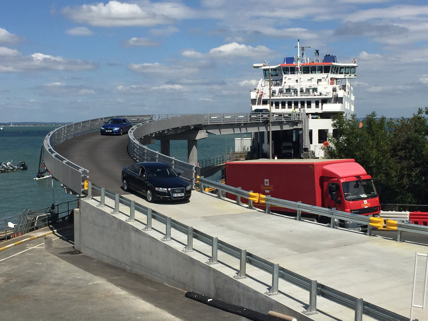 wightlink's investments improve car loading times