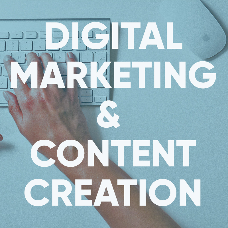 digital marketing and content creation