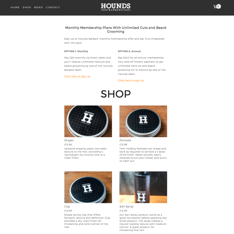 hounds barbers southsea website