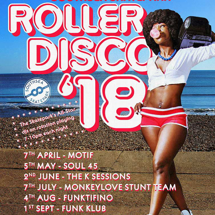 Southsea Skate Park roller disco