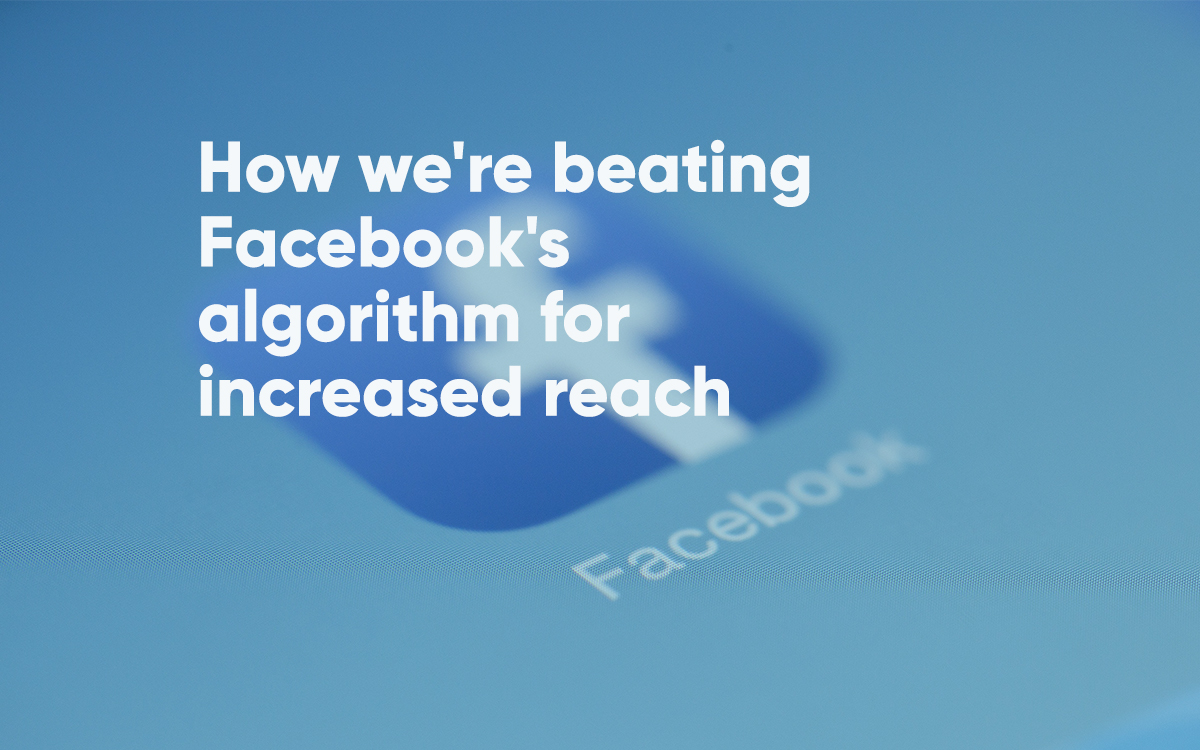 beating facebook algorithm for business