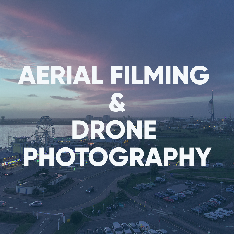 aerial filming and photography services for portsmouth and hampshire