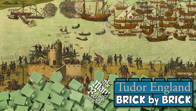 Help the Mary Rose Build Colossal LEGO® Brick Mosaic