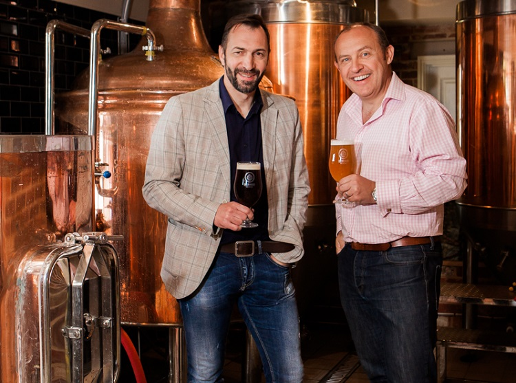 Brewhouse and Kitchen Founders Simon Bunn and Kris Gumbrell