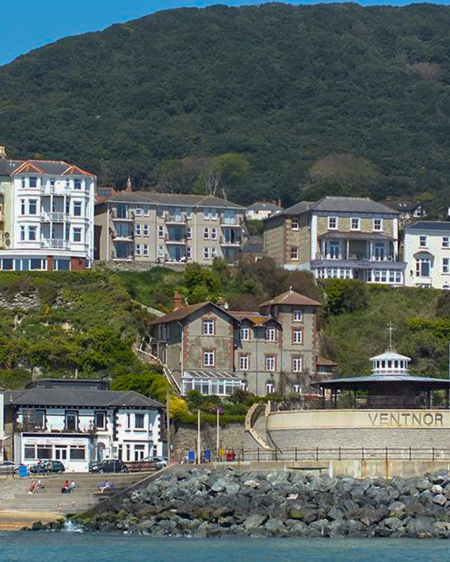Ventnor Town. Credit Visit Isle of Wight