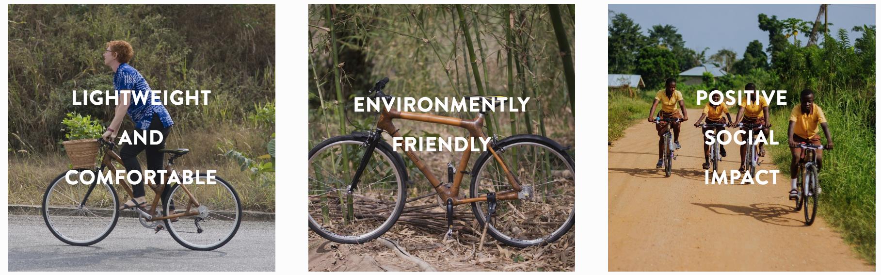 website build booomers bamboo bikes