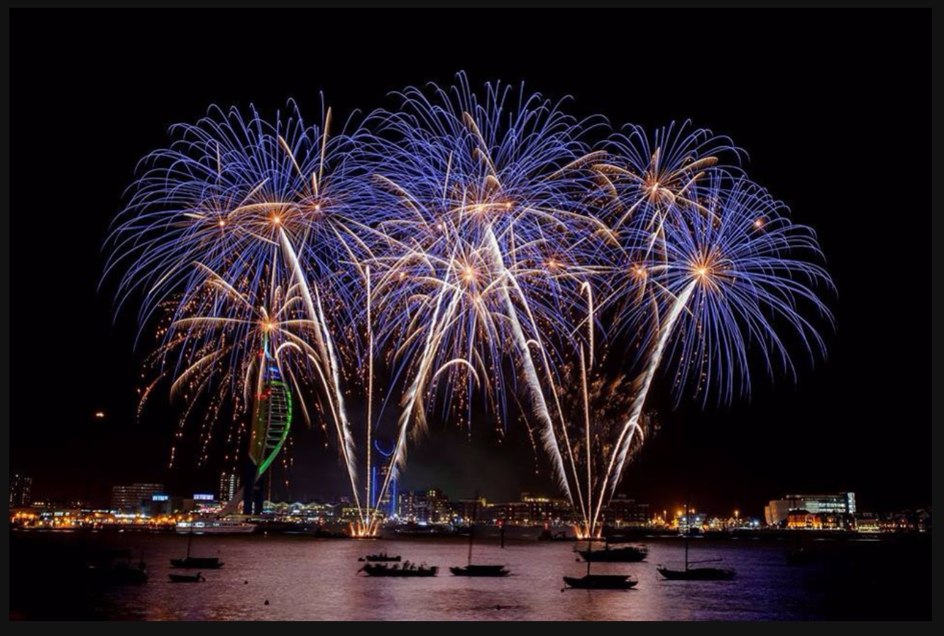 Fireworks Displays in Portsmouth and Southsea 2018