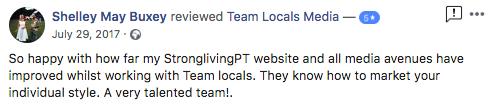 Team Locals Portsmouth Client Testimonials