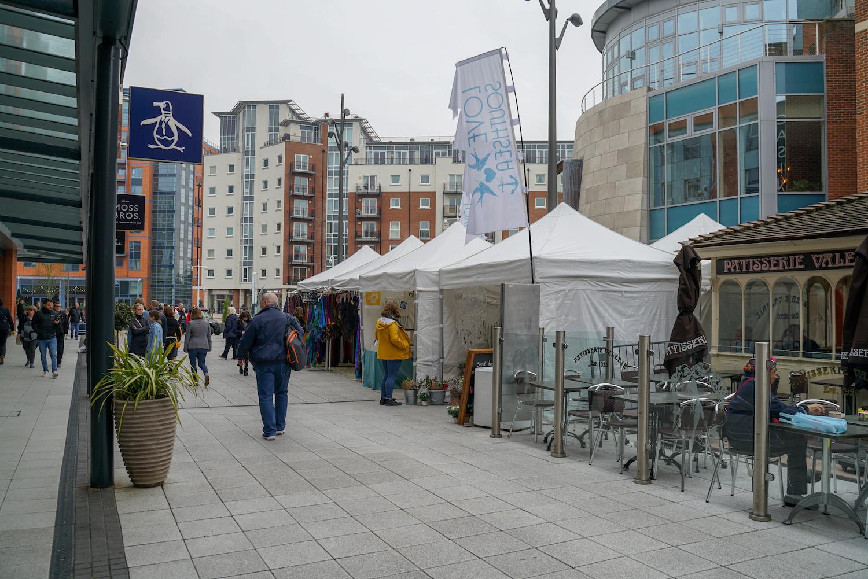 Love Southsea creative market gunwharf quays