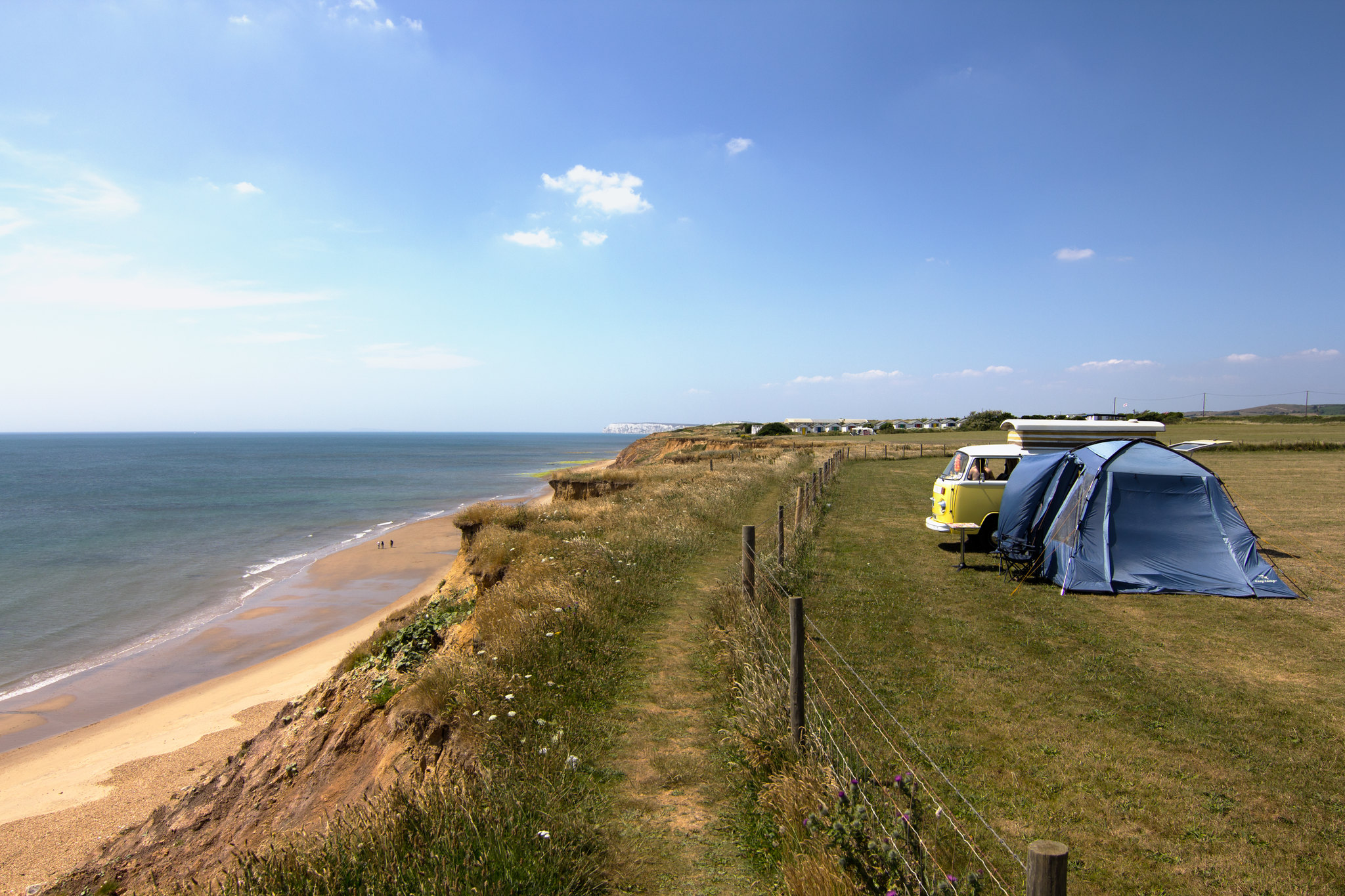 Enjoy family-friendly camping on the Isle of Wight