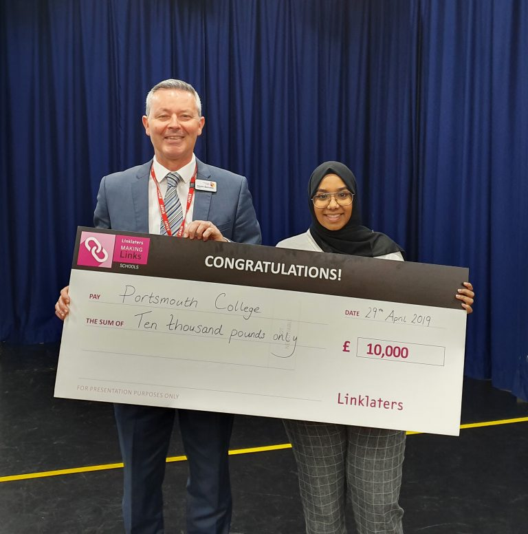 PORTSMOUTH COLLEGE STUDENT WINS 10K