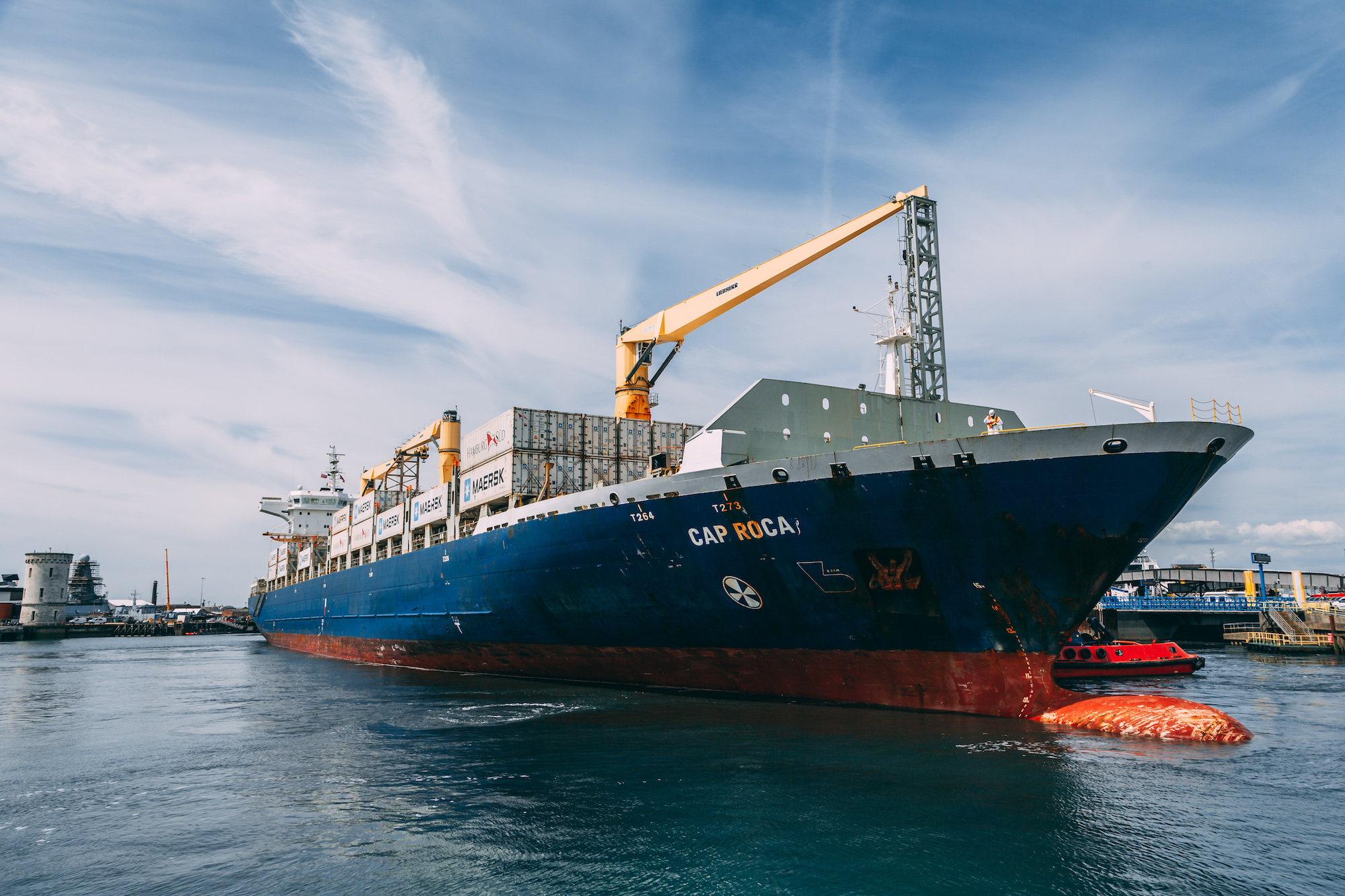 Portico Go to Great Lengths with Arrival of New Container Vessel