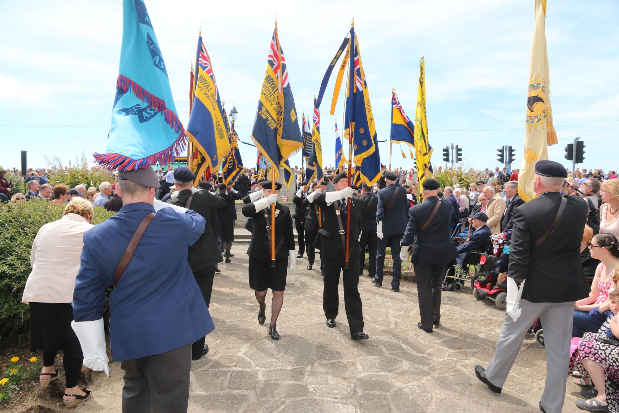 d-day stone veterans southsea