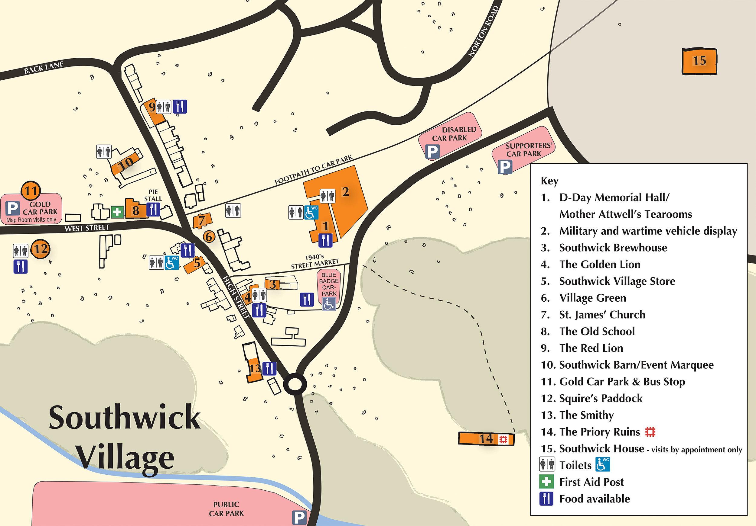 southwick revival Map