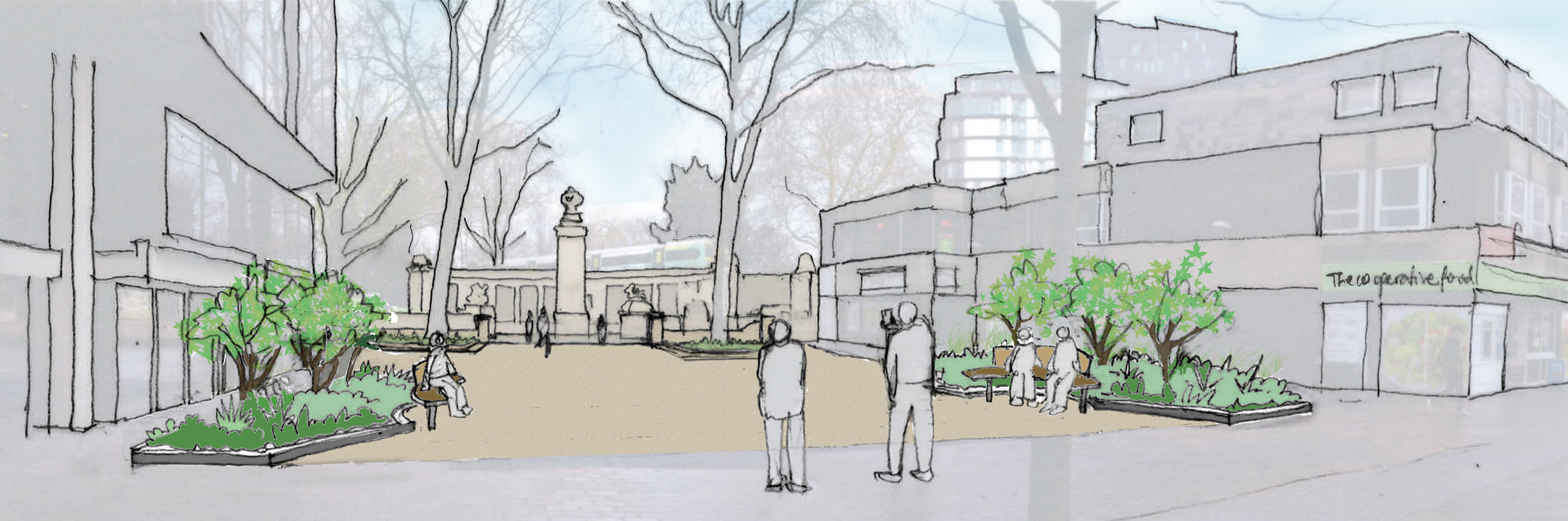 Planning permission granted for Guildhall Square memorial space