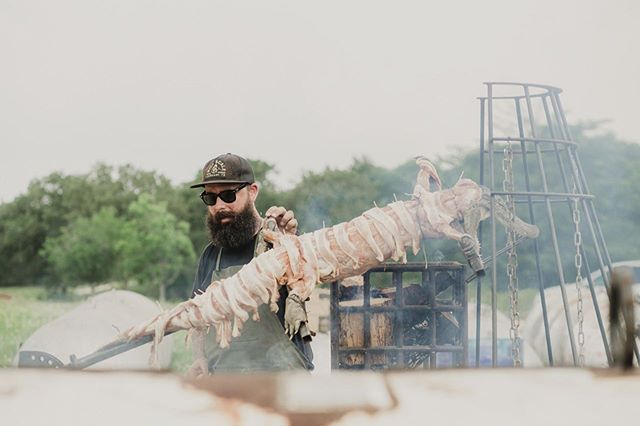 #smoke #openfire #grillmaster @mill.scale photo @vanessalainphoto  client @eater @eateraustin