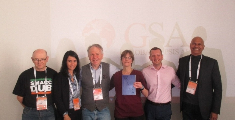 Idelette Nutma presented her book  Sepsis and afterwards  to the  Global Sepsis Alliance Executive Board  at the World Sepsis Day Supporter Meeting on March 22nd, 2017.
