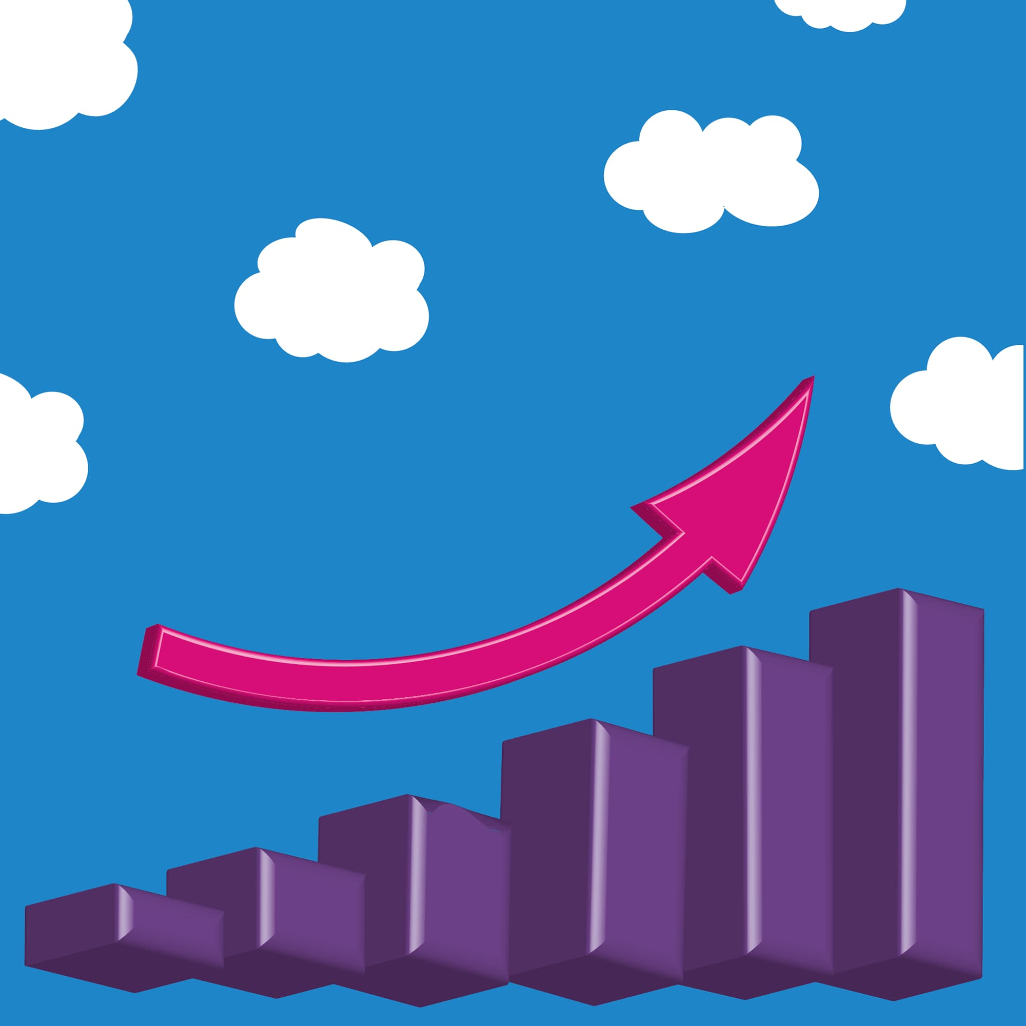 pink upward arrow pointing to top of rising purple diagram square.jpg