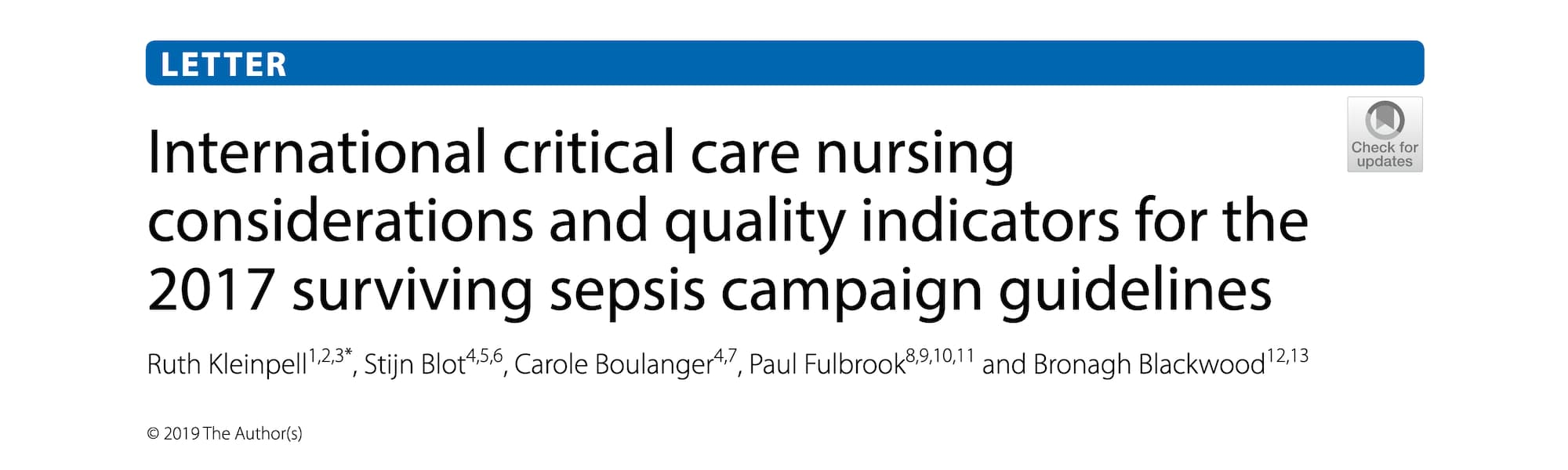 International Critical Care Nursing Considerations and Quality Indicators for the 2017 Surviving Sepsis Campaign Guidelines Banner.jpg