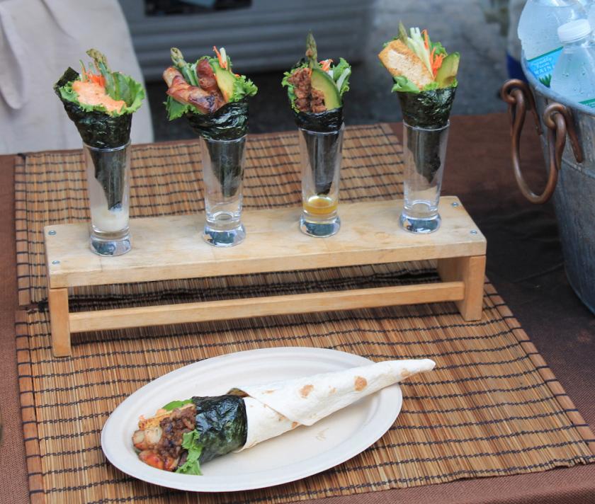 Smorgasburg Seaweed Wrap