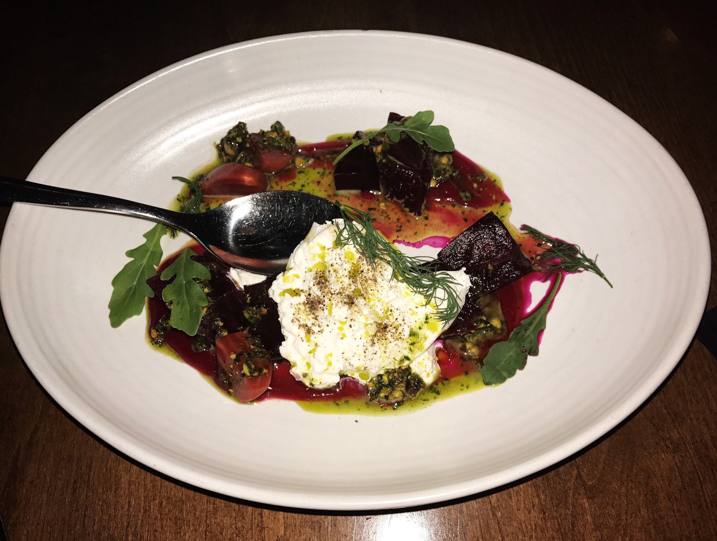 The Burrata.