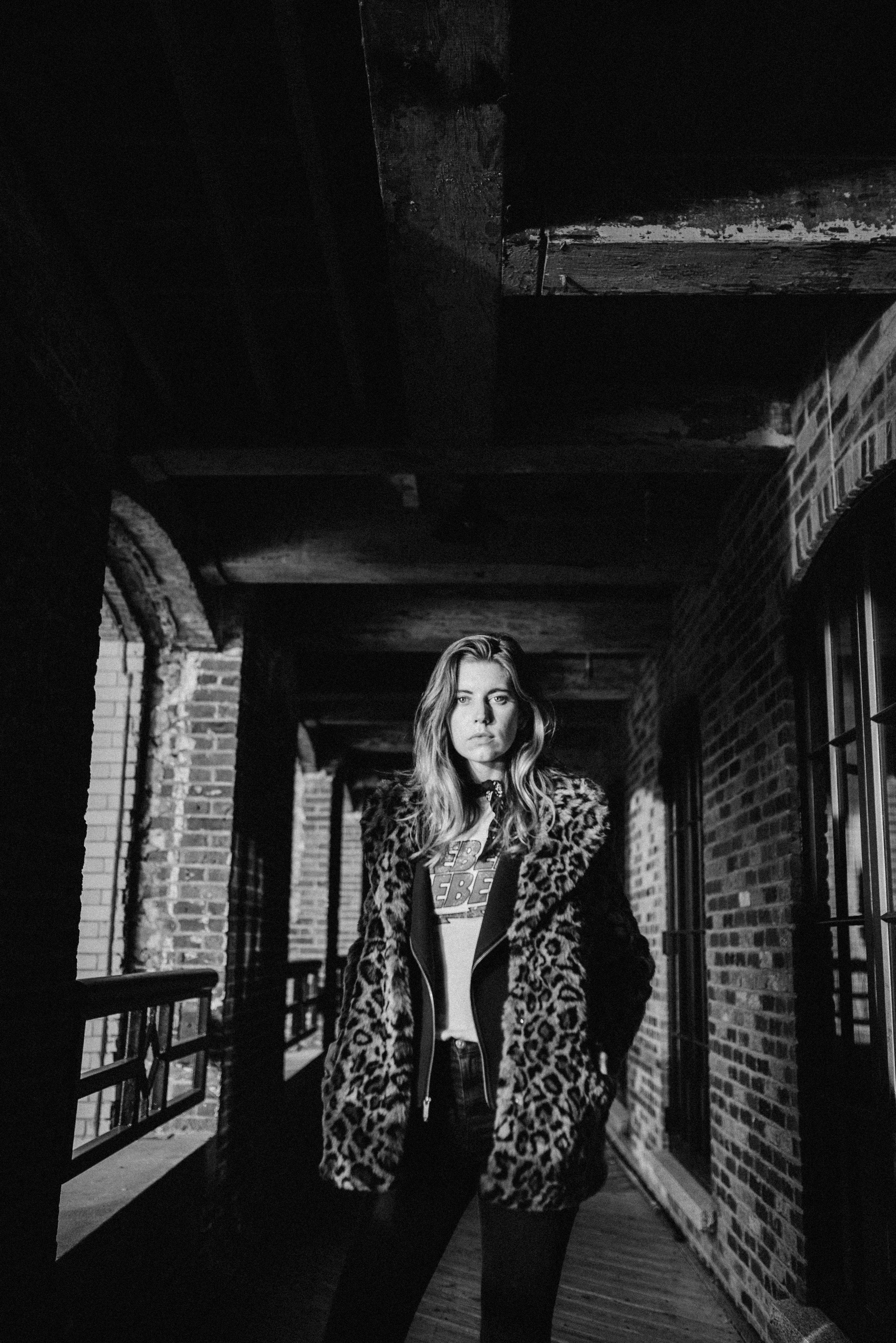Boston black and white photography