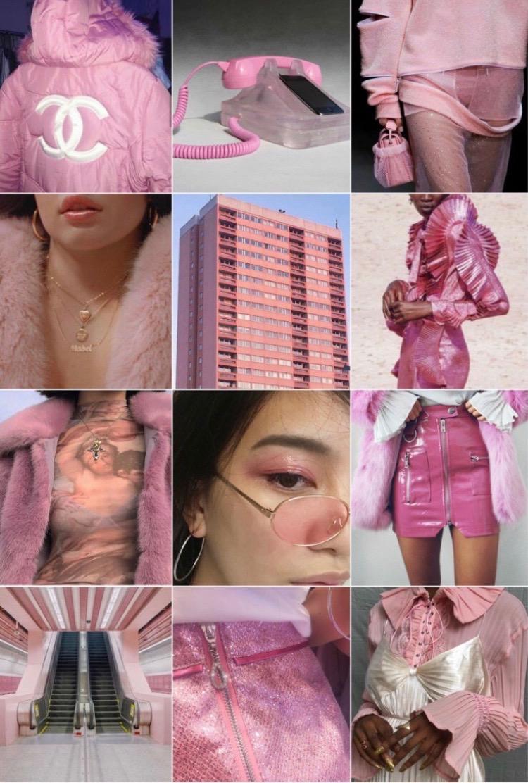 pink moldboard