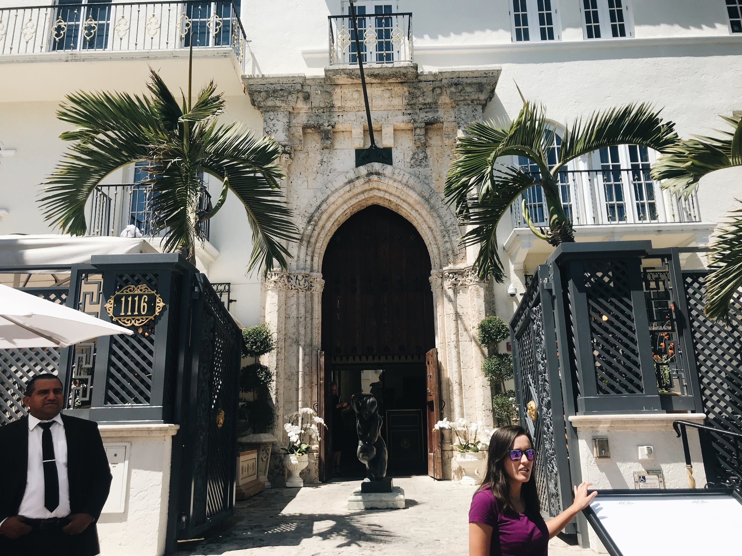 Versace Mansion.