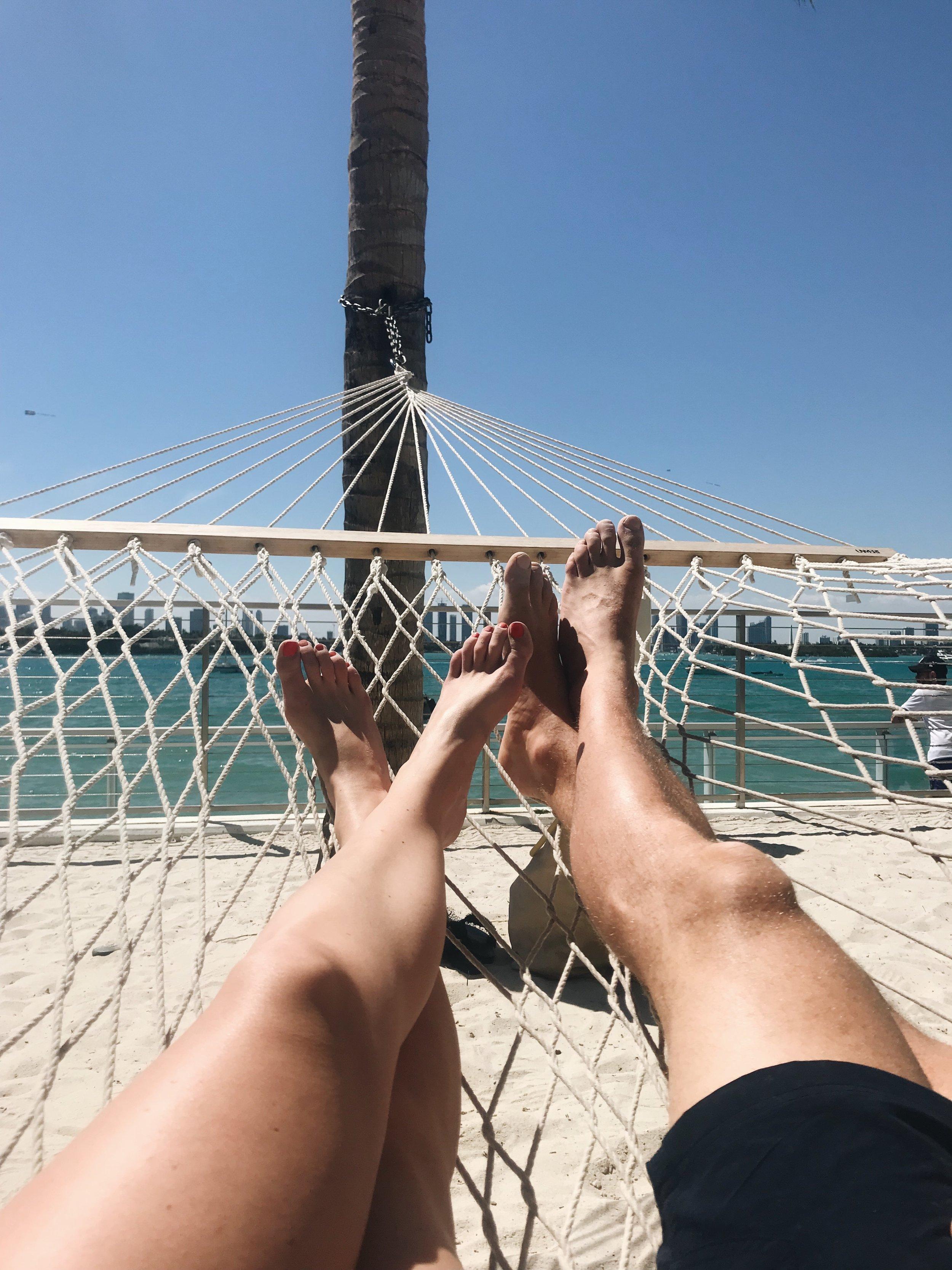 Mondrian hammocks