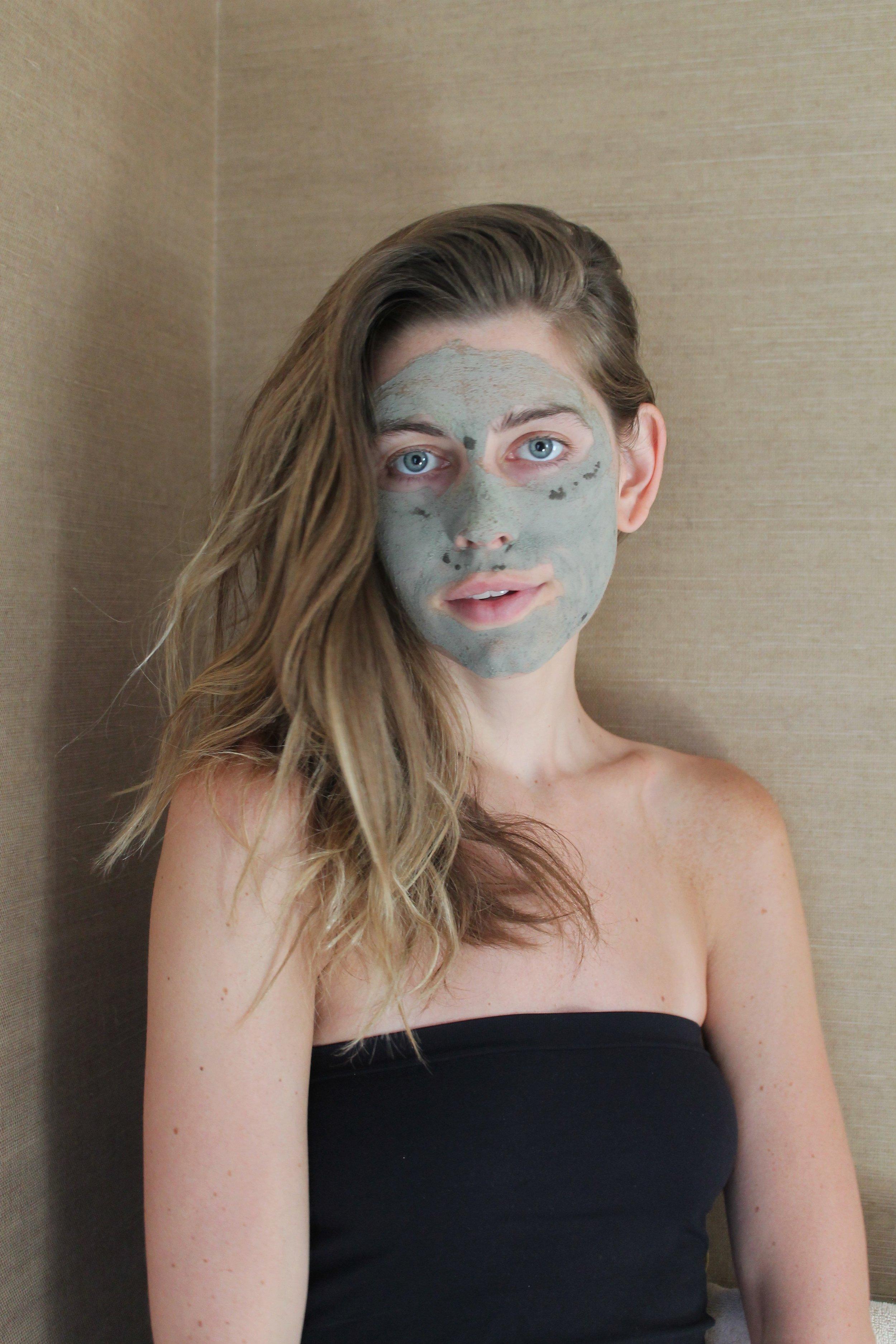 Indigo Elixirs Matcha Kalo Face Mask