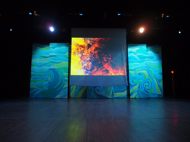 Video installation komagata maru play by Natasha Sharma