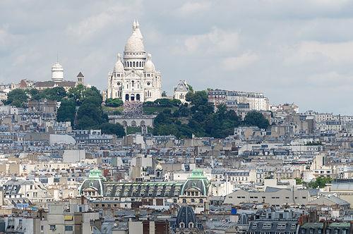 Montmartre, including the Basilica of the Sacré Cœur