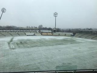 Match postponed...