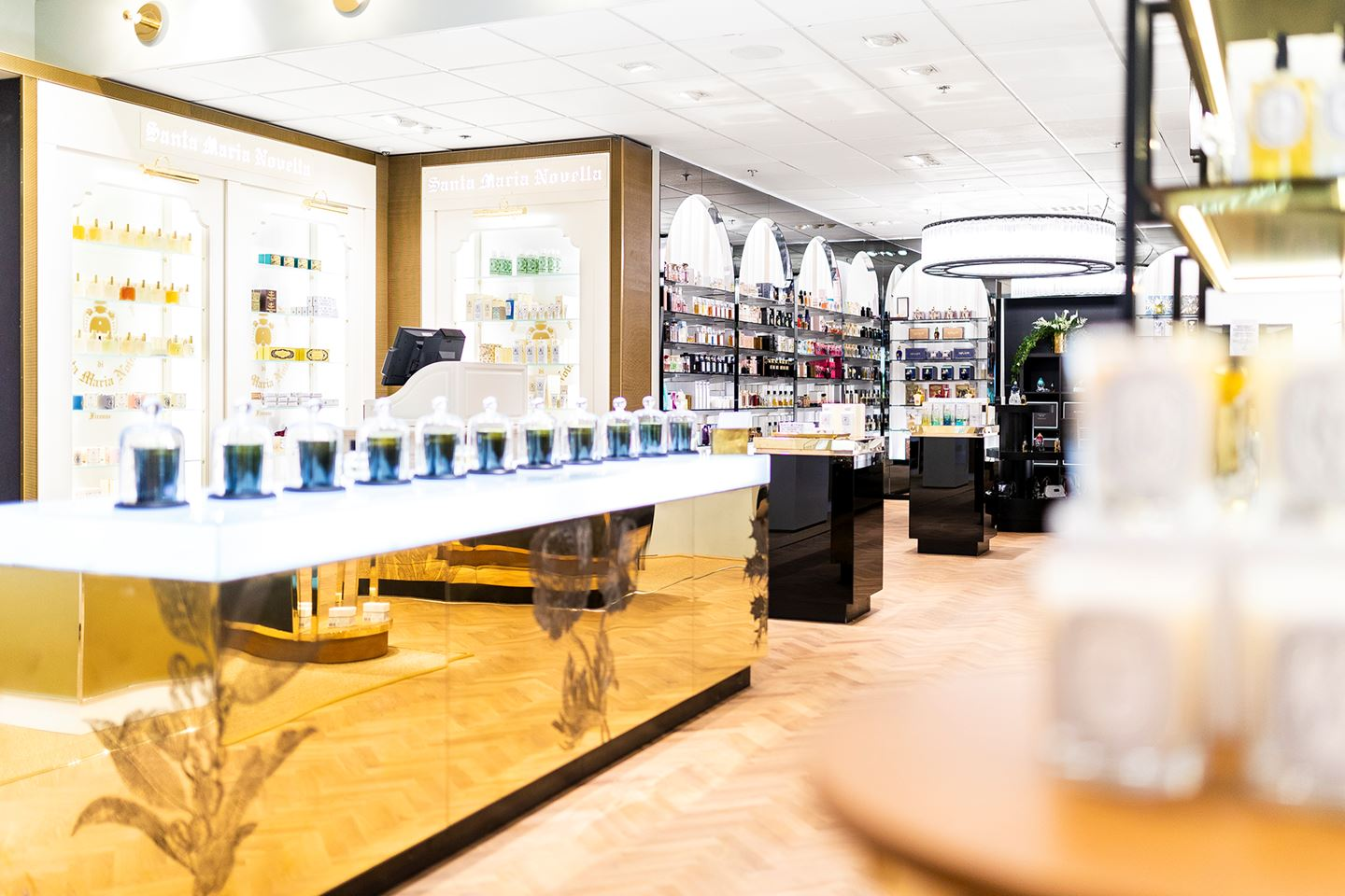 NK Beauty  / Client: Departments & Stores / Project: Perfume department / Role in project: Retail architect in collaboration with Departments & Stores