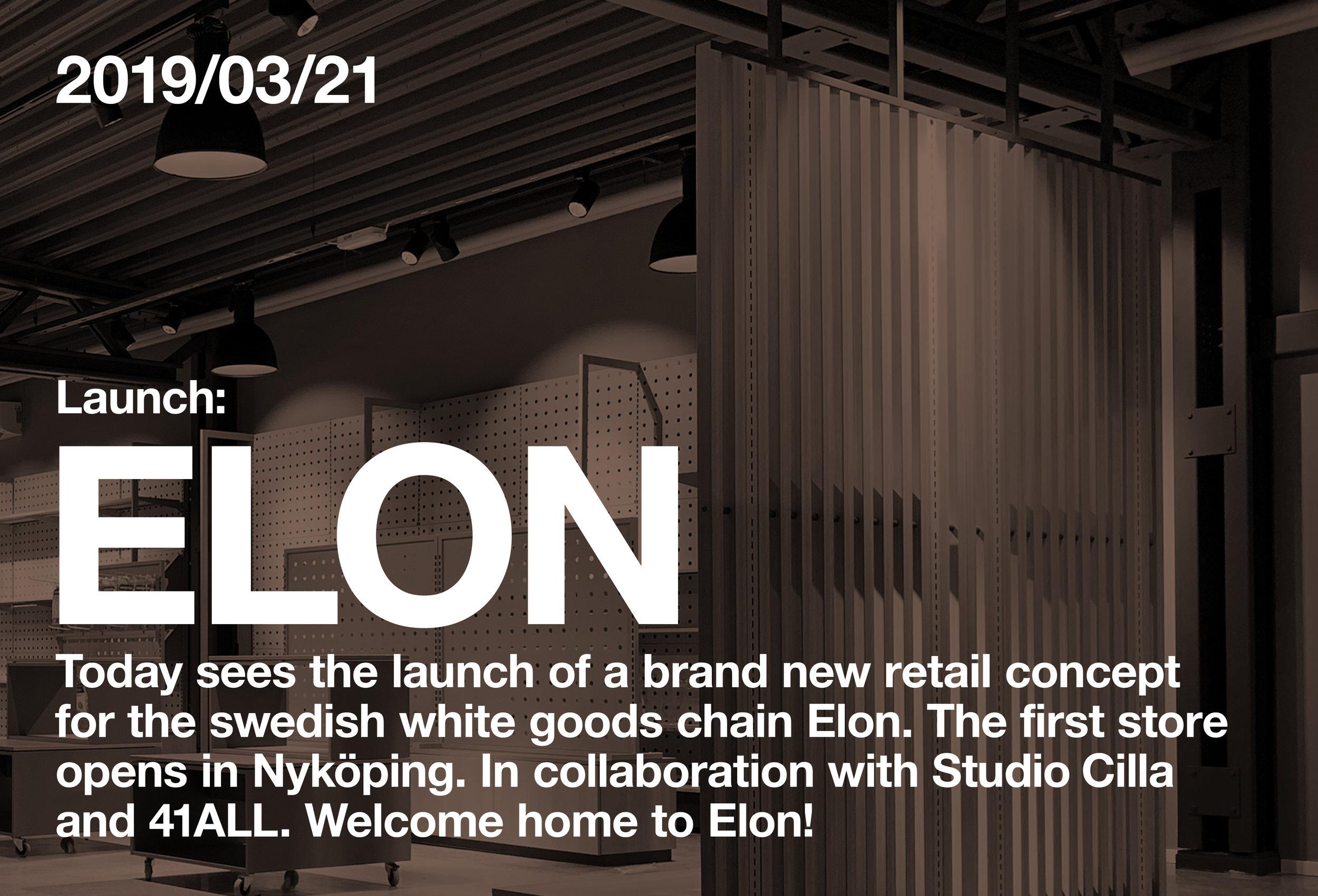 Elon butikskoncept, Elon, Elon butik koncept