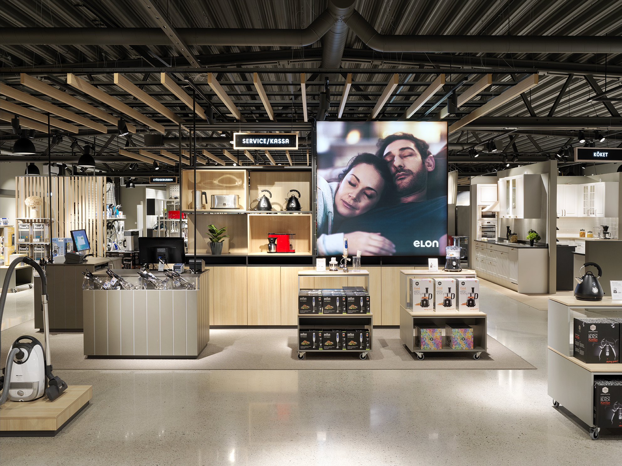 Elon  / Project: Retail concept / Role in project: Retail architect in collaboration with Studio Cilla / Brand and in-store communication by 41.
