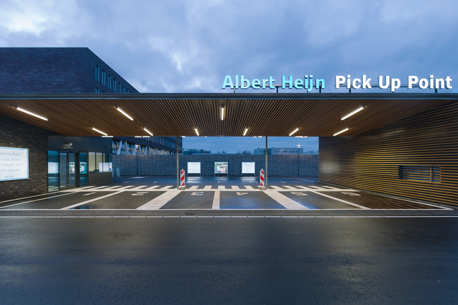 Albert Heijn, Pick Up Point  / Assignment at BLINK / Project: Pick Up Point / Role in project: Creative Director