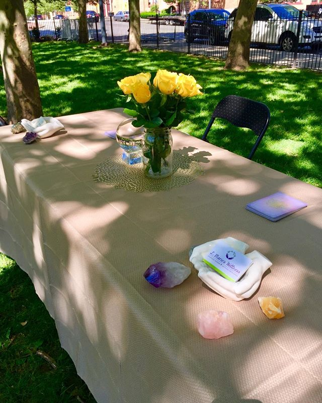 Are you going to #PVDFest today?!? @lovelylaida and I will be reading angel cards in the park today! Whether you have a question to ask your guides or just looking for some intuitive guidance, swing by and see us! $20 readings all day!! ✨💕🔮🙌 #lmarieswellness #sweetsource #letmereadyourcards #PVDFEST2019 #pvd #burnsidepark #whatquestionsdoyouhave #intitutiveguidence #oraclecards #whatwillyourguidestellyou #myfirstPVDFest #talktoyourguides #providenceRI