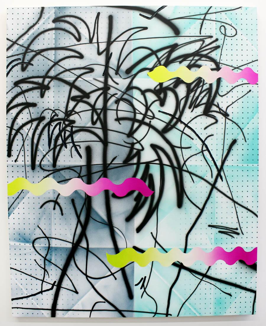 Josh Reames  Open Invitation  Acrylic on canvas 60 x 48 in(152.4 x 121.9 cm)