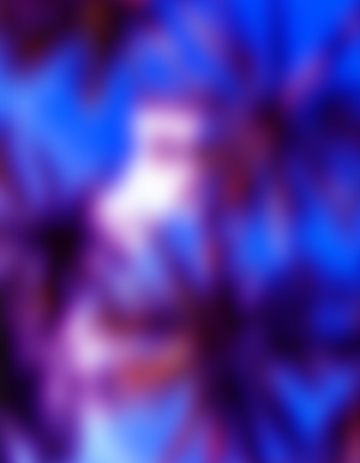 Ry David Bradley    Skyward 2  Dye transfer on synthetic velvet 62 x 48 in (157.5 x 121.9 cm)