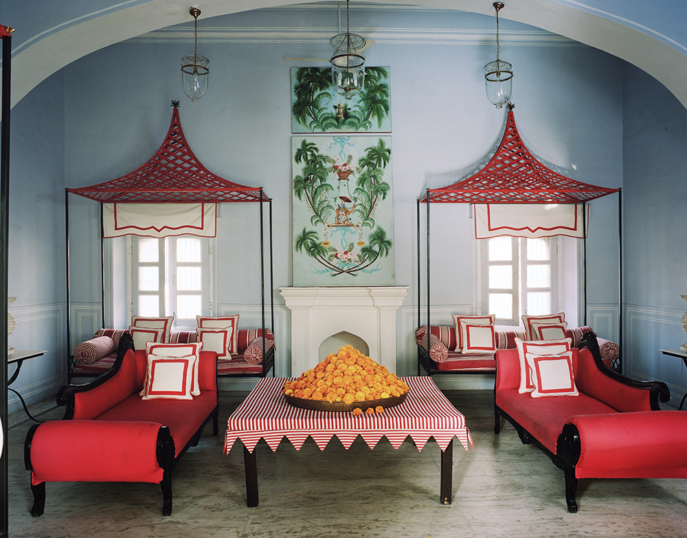 86–87 Residence of Marie-Anne Oudejans, Jaipur, design by Oudejans, photograph by François Halard for Architectural Digest.jpg