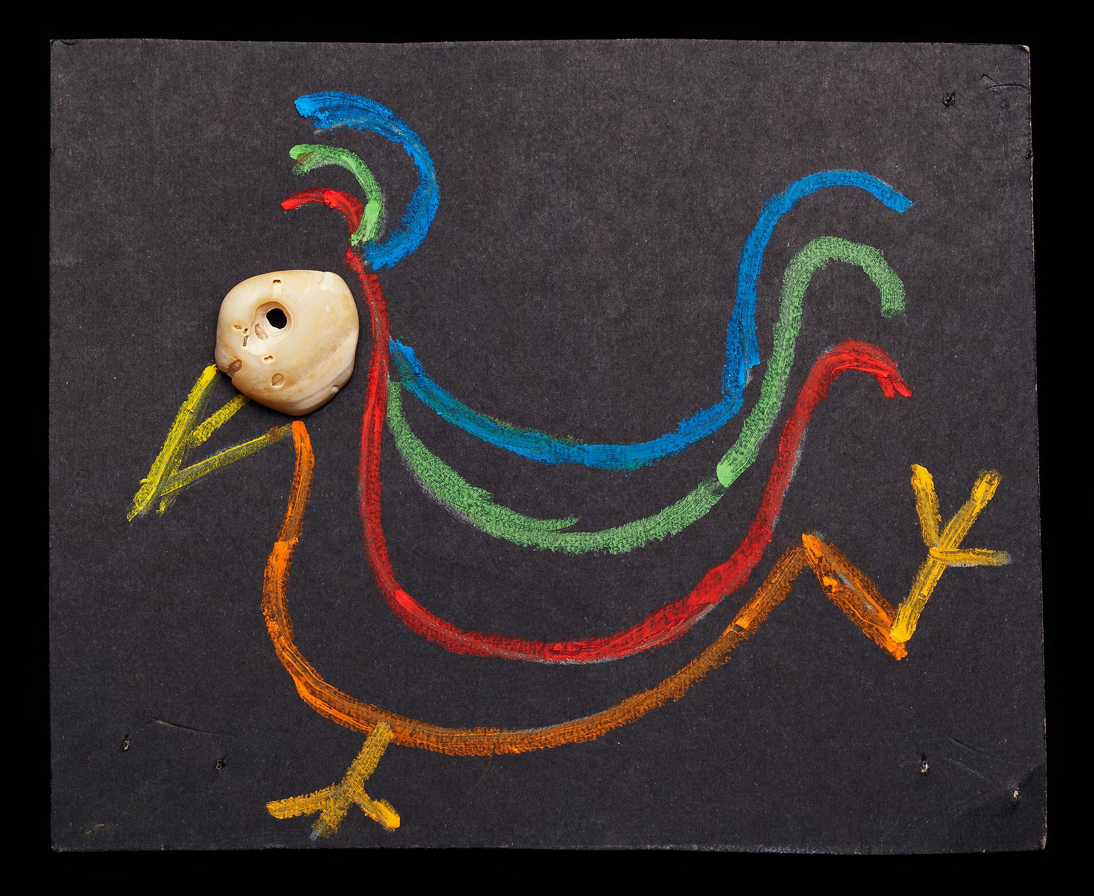 ShellArt-ColorfulBird by Thomas Wilson Laney