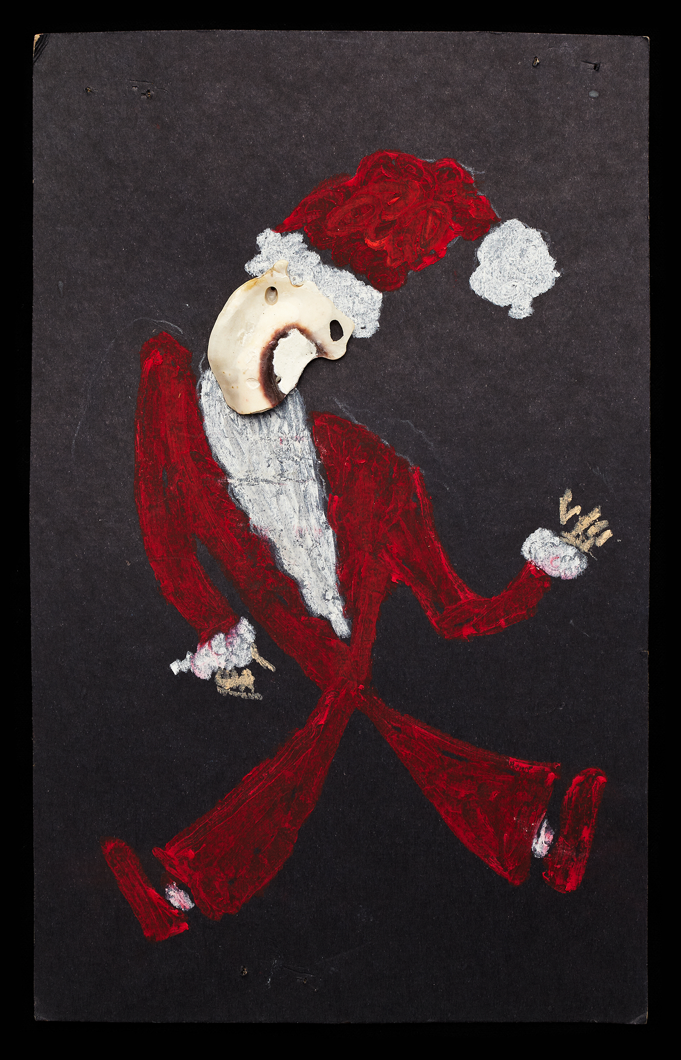 ShellArt-Santa by Thomas Wilson Laney