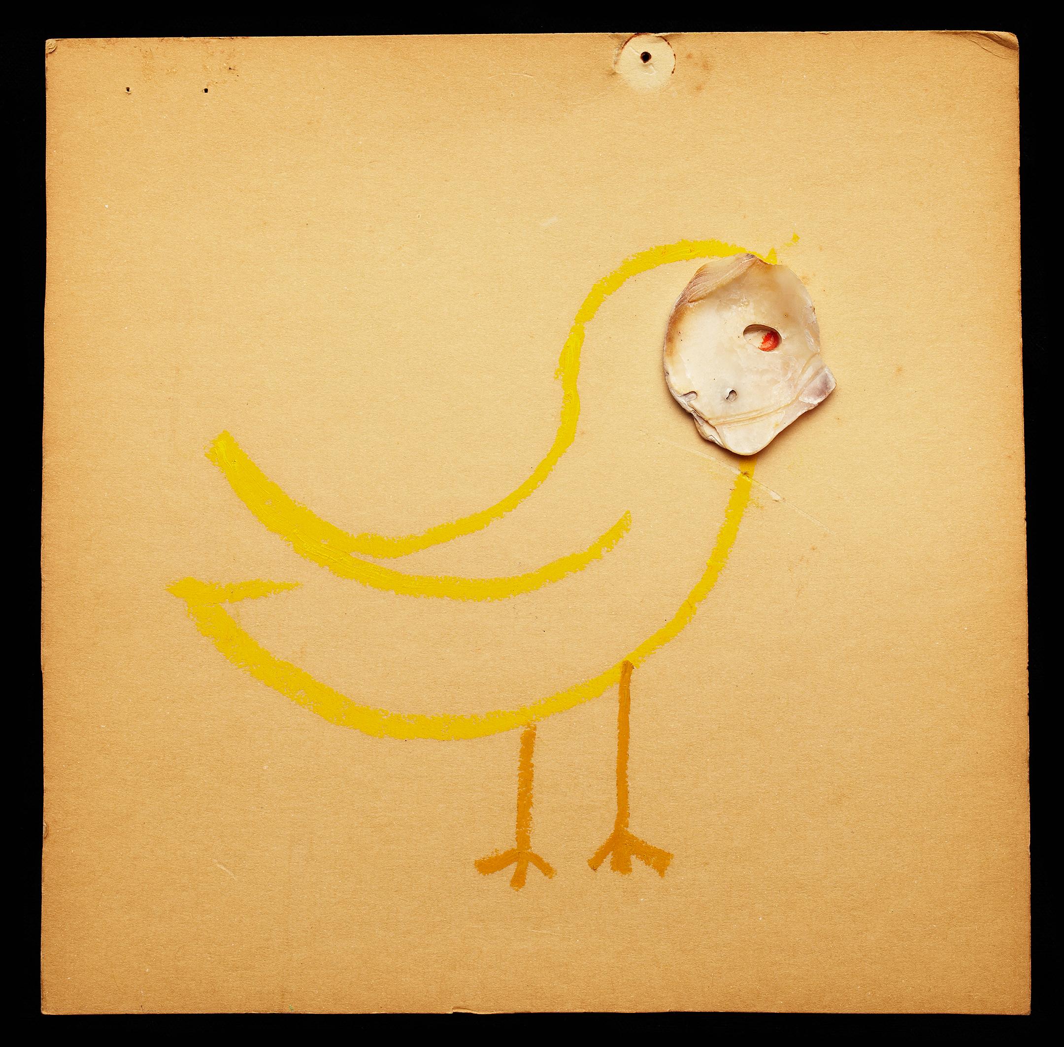 ShellArt-YellowBird by Thomas Wilson Laney