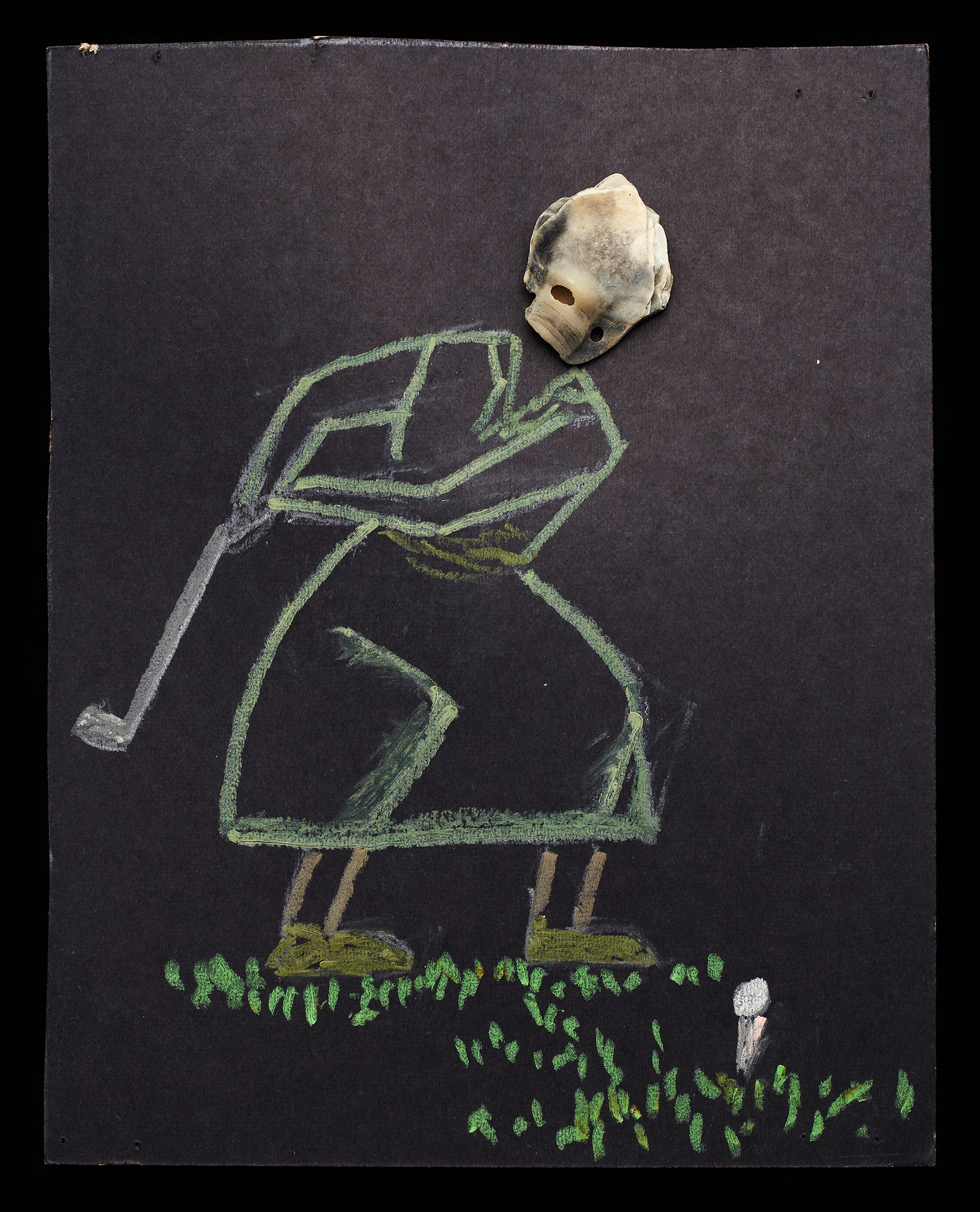 ShellArt-Golfer by Thomas Wilson Laney
